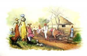 scene-of-indian-village
