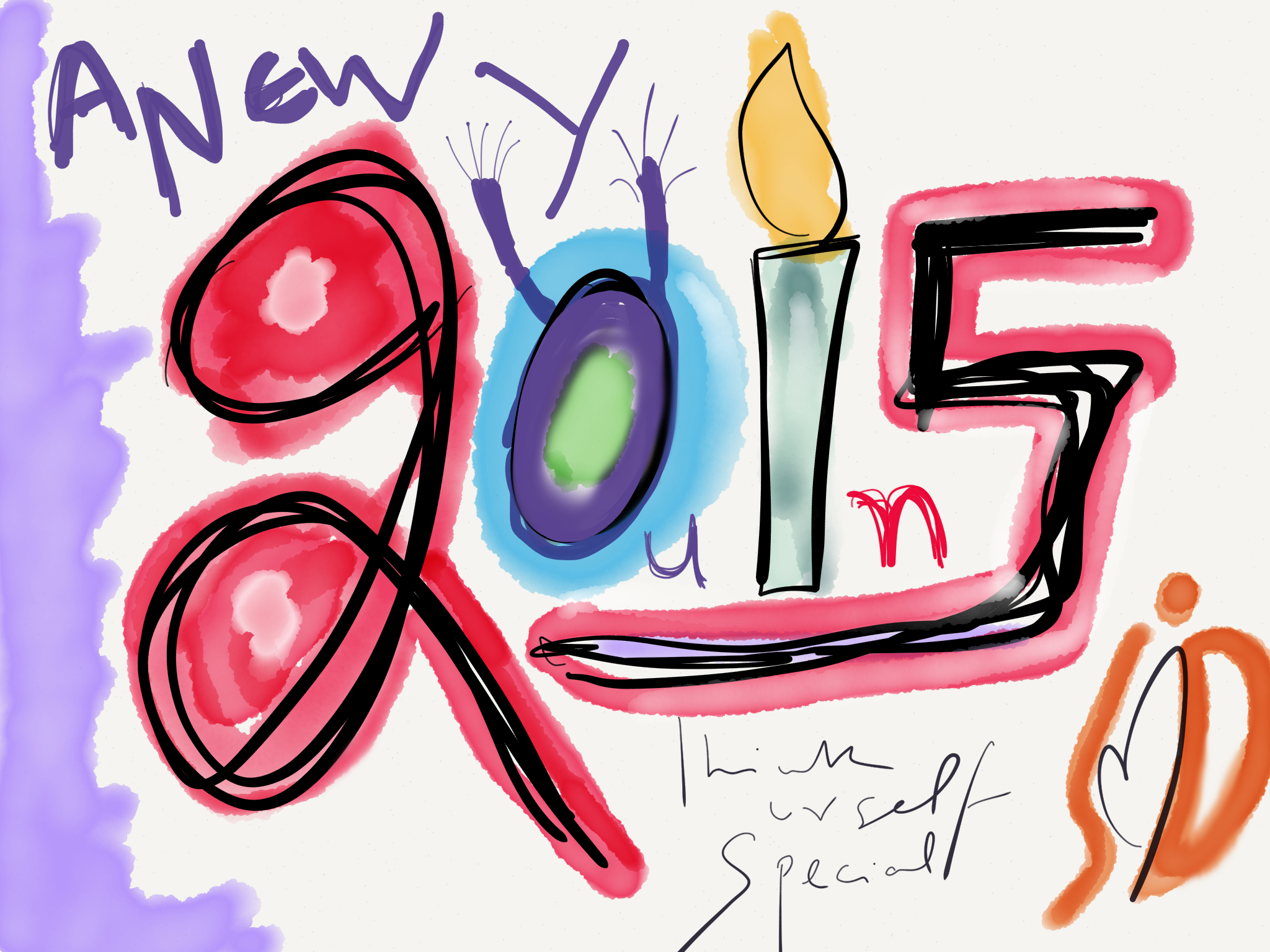 2015 started with school timescribble