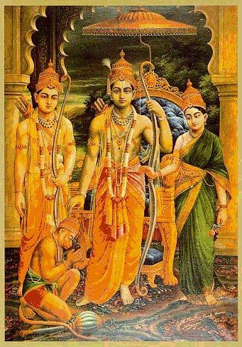 Ram Darbar by Raja Ravi Varma